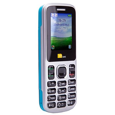 TTsims – Dual Sim TT130 Mobile Phone – Camera – Bluetooth – Cheapest Twin 2 Sim Phone – Blue