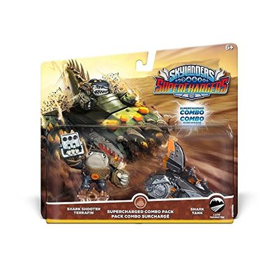 Skylanders SuperChargers Dual Pack 1 : Shark Shooter Terrafin/Shark Tank (Toy)